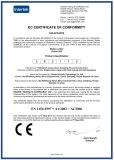 CE Certificate for 502 Type Door Closer