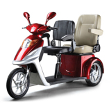 3 wheel double seat electric scooter