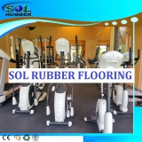 Impact absoring Roll Gym Fitness Rubber Flooring