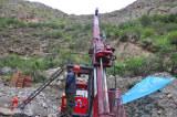 C5 Hydraulic Core Drilling Rig in Xinjiang