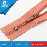 3#Colorful Teeth Nylon Machine Zipper