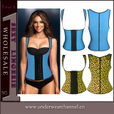 Erotic Women Latex Waist Training Underbust Sexy Lingerie Corset