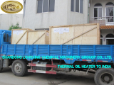 Two sets of Thermal Oil Heater to India