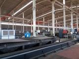 Advanced Optical fiber laser cutting machine of Haiqin Machinery !