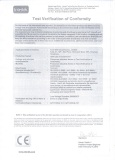 CE certificate of Light Commercial Air Conditioners (Page 1)