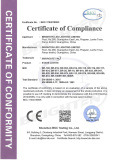 LVD Certificate of Par Light