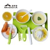 Ceramic Baby Food Grinder & Juicer & Knife & Peeler