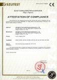 Plate Compactor CE Certificates