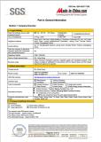 SGS Certifcate