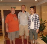 Our Sales Manager Mr. William receives South African customer Mr. Daniel Pottas