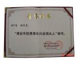 Honour Certification For Excellent Enterpriser