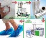 Plastic Shoe Cover Making Machine Line