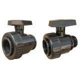 "PVC Single Union Ball Valve DIN ANSI JIS BS Standard DN20 ( 3/4"" )-DN100 ( 4"" )"