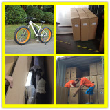 MTB Fat Tire 500w Electric Bikes For 40HQ Container