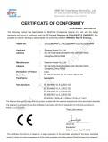 Electric Lock Certificate