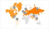 Company Sales Distribution Areas