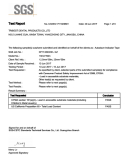 Cytotoxicity Test report