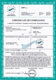 CE Certificate of Valve Fitting