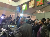 Industries minister Amir Hossain Amu visit our booth in Dhaka Fair