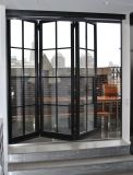 Wrought iron bi-folding door