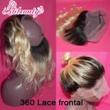 blonde 360 frontal
