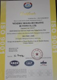 ISO9001:2008 quality guarantee systems