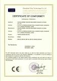 CE for Crane geared motor