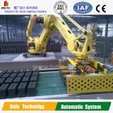 Labor saving!! Automatic stacking robot for brick pruduction line, clay brick making machine for sal