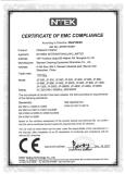 CE-EMC for plastic ultrasonic cleaners