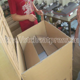 safe hard carton packing with foam, instructions inside