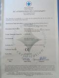 CE certificate of briquette machine