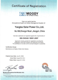 Solar Panel OHSAS 18001 Certificate