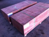 wooden box with wooden pallet