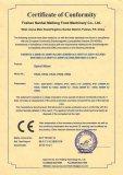 CE (EMC) certificate for Dough Mixer