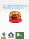 sublimation polyester 5-panel cap