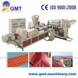 PVC roof tile extrusion machine