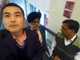India customer visited us
