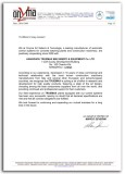 Recommendation Letter From Sri Sistemi&Tecnologie