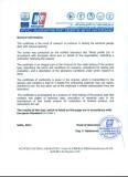 CE Certification of Tension Spring Garage Door (Manual) 2/2