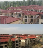 Guangdong roof tile project