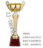 Metal decoration trophy FB2054