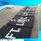 Heavy duty area Gym Fitness Rubber Floor Mat