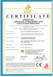 CE Certification of tissue paper converting machine