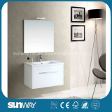 2015 New Glossy Fancy Bathroom Cabinets with Certificate (SW-1303)