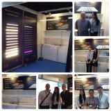 2015 HK lighting fair with customers