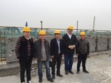 Norway client visit our new factory