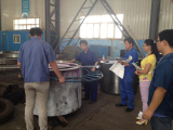 Dimension Inspection Under Foreign Customer′s Witness