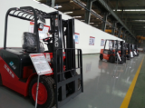 JAC forklift exhibition