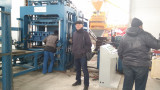 ZCJK BLOCK MAKING MACHINE SERVICE in RUSSIA