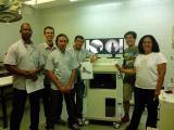Our Engineer installing digital c-arm at Universidade de Brasilia